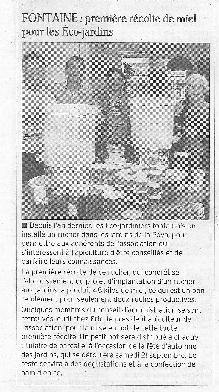 article Dauphiné 14/9/2013
